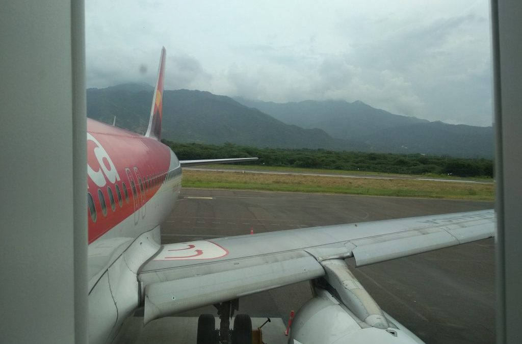 Lifehack I've found out when buying air tickets from Santa Marta to Bogota